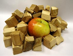 Uncle Robby's Premium Orchard BBQ Apple Wood Chunks